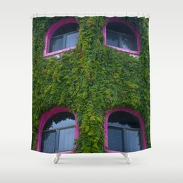 Pink and Ivy Shower Curtain