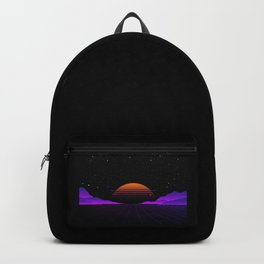 Vaporwave Outrun | Eighties Style Backpack