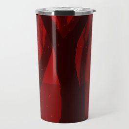 Magical Forest in RED Travel Mug