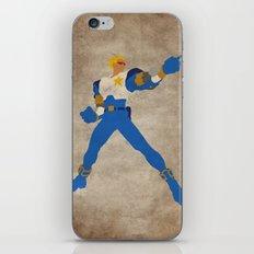 Commanding Captain (Captain Commando) iPhone & iPod Skin