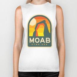 Moab Utah Patch Biker Tank