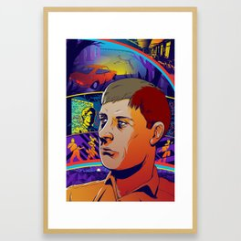 Ian Curtis No. 2 Framed Art Print