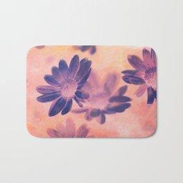 Daisies on Canvas Bath Mat
