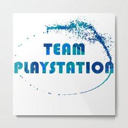 Team Playstation Metal Print