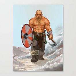The berzerker Canvas Print