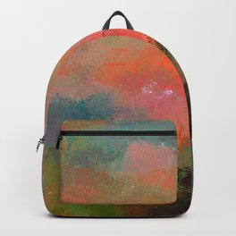 Caring With Pale Carmine Backpack