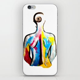 Primary Woman iPhone Skin