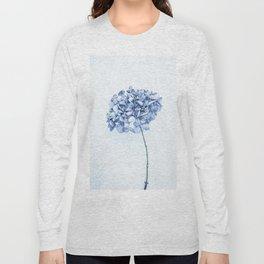 Hydrangea Blue 2 Long Sleeve T-shirt