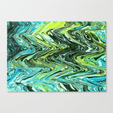 Paper Marbling 02 Canvas Print