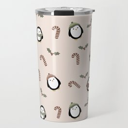 christmas penguins Travel Mug