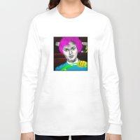psycho Long Sleeve T-shirts featuring Psycho by Matthäus Rojek