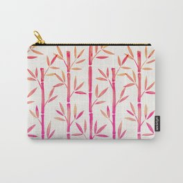 Bamboo Stems – Pink Palette Carry-All Pouch