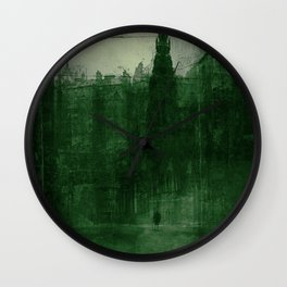 Edinburgh by night Wall Clock