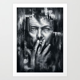Black Star - Bowie Art Print