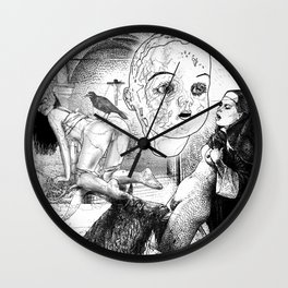 The constellation erotique 2492 Wall Clock