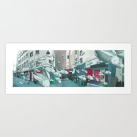 kozyndan Art Prints featuring Catch of The Day by kozyndan