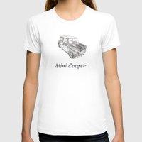mini cooper T-shirts featuring Mini Cooper by CARZINART