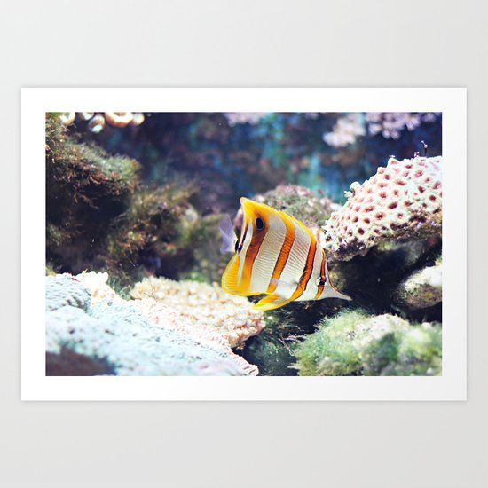 The sea, source of all life Art Print