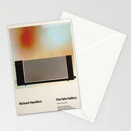 Richard Hamilton Exhibition poster 1970 Stationery Cards