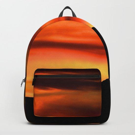 SW Orange Mountain Sunrise - II Backpack
