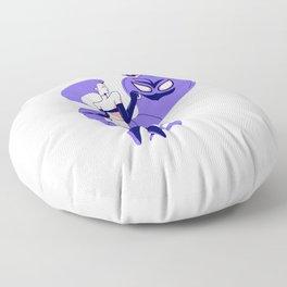 Trouble Floor Pillow
