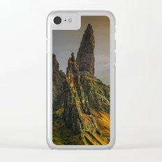 Rock II Clear iPhone Case