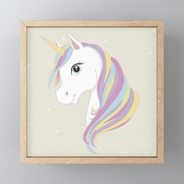 Unicorn Framed Mini Art Print