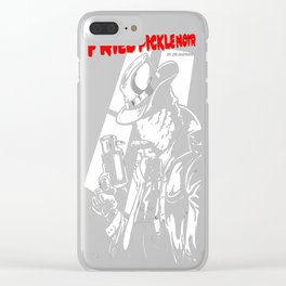 Detective Q by Bryan SilverBaX Clear iPhone Case