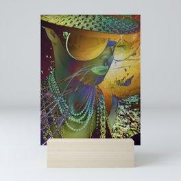 Bertha Mirror Funk Mini Art Print