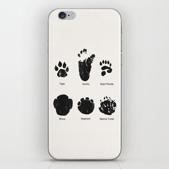 Animal Track iPhone & iPod Skin
