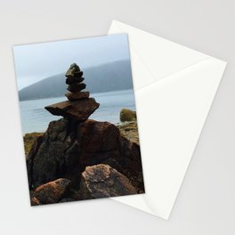Acadia Cairn Stationery Cards