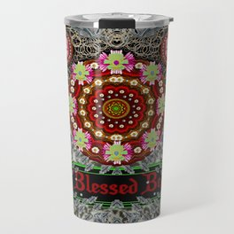 Blessed be and merry Travel Mug