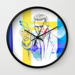 Tom Cruise - Collateral Wall Clock