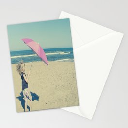 Beach Whirl Stationery Cards