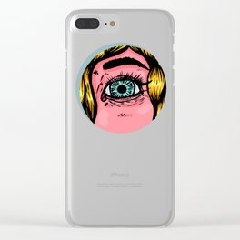 The blonde spies Clear iPhone Case