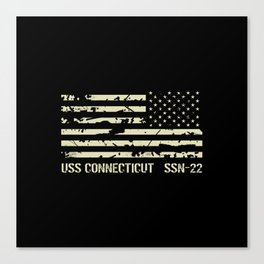 USS Connecticut Canvas Print