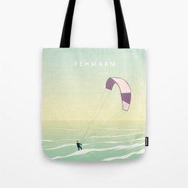 Kitesrfing Fehmarn Tote Bag