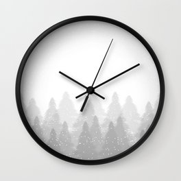 Winter Land Light Wall Clock