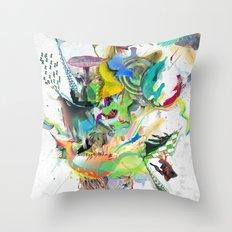 Numb Throw Pillow