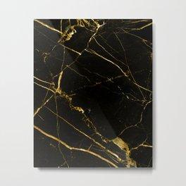 Black Beauty V2 #society6 #decor #buyart Metal Print