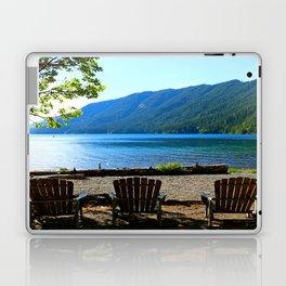 Adirondack Chairs at Lake Cresent Laptop & iPad Skin