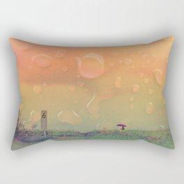 Rain in September Rectangular Pillow