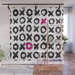 Xs and Os | Hugs and Kisses Pattern | LOVE Wall Mural