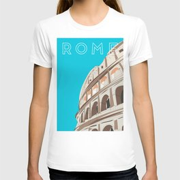 Rome, Italy Colosseum Travel Poster T-shirt