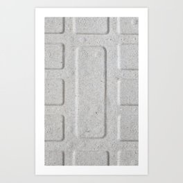 Cardboard Recycling Art Print