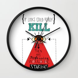 Killer Stare Wall Clock