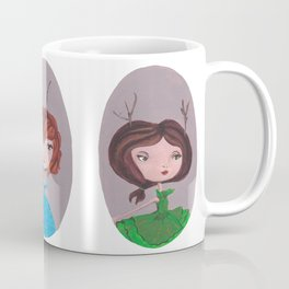 Three little girls - horizontal Coffee Mug