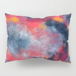 Abstract Texture Digital Painting Pillow Sham