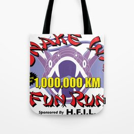 Snake Way Fun Run Tote Bag