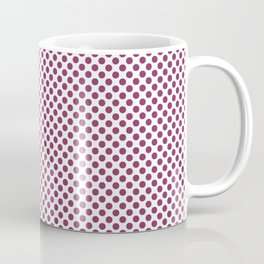 Boysenberry Polka Dots Coffee Mug